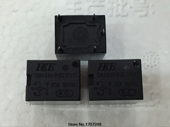 Free Shipping 100% new original relay 100pcs/lot HKE Automotive relay 12V CMA51H-S-DC12V-C CMA51H-S-12V-C 5PIN 20A 16VDC