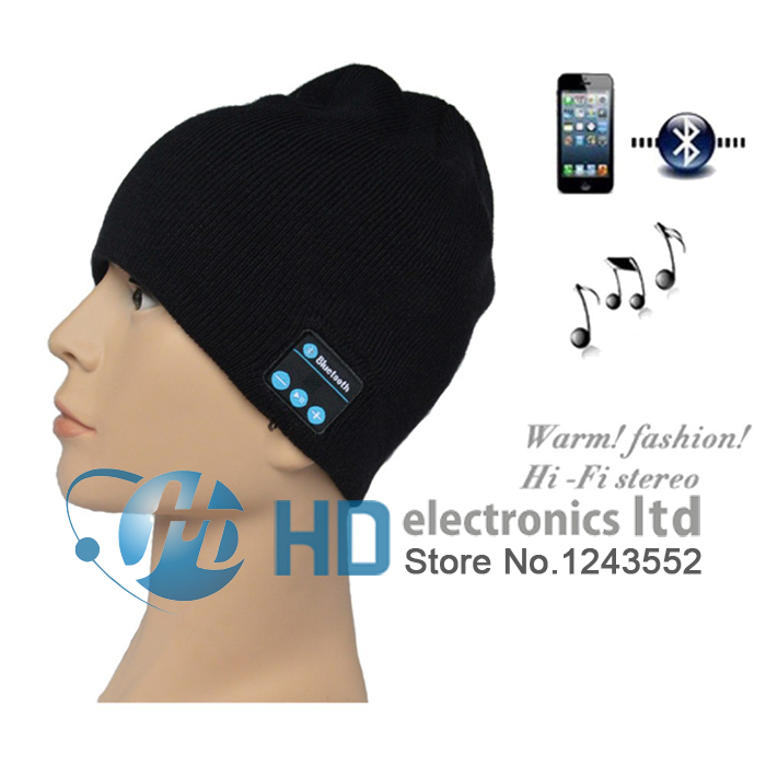 Newest Fashion Wireless Bluetooth Knitted Hat Hands-free bluetooth Knitted Hat Speaker Winter Warm Relaxation Sport Cap wireless bluetooth music beanie cap stereo headset to answer the call of hat speaker mic knitted cap