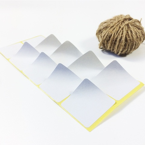pacote de presente diy etiqueta papel adesivos