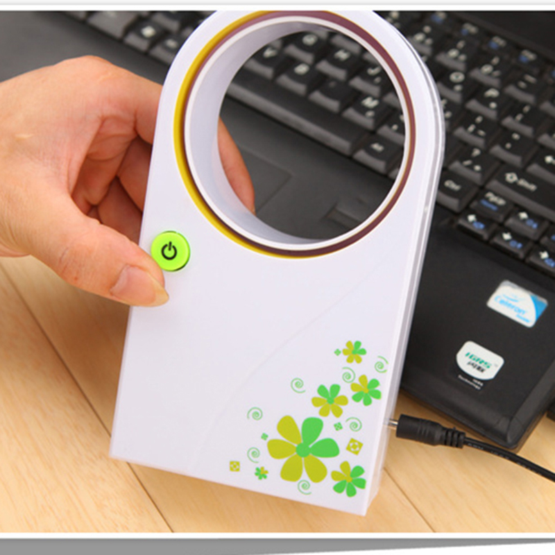 2017 Summer Office Portable Handheld Mini Usb Fan No Blades Handhold No leaf Fans Electric Bladeless Cooler Air Condition portable handheld mini usb cooling fan bladeless household no leaf air conditioner fans electric conditioning cooler office home