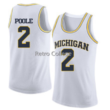124f77af6671 High Quality  2 jordan POOLE Michigan State Mens Basketball Jersey  Embroidery Stitched Customize any name