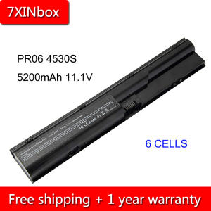7xinbox Laptop Battery 4545s 4530s 4440s Probook HP for 4330s/4331s/4430s/.. 5200mah