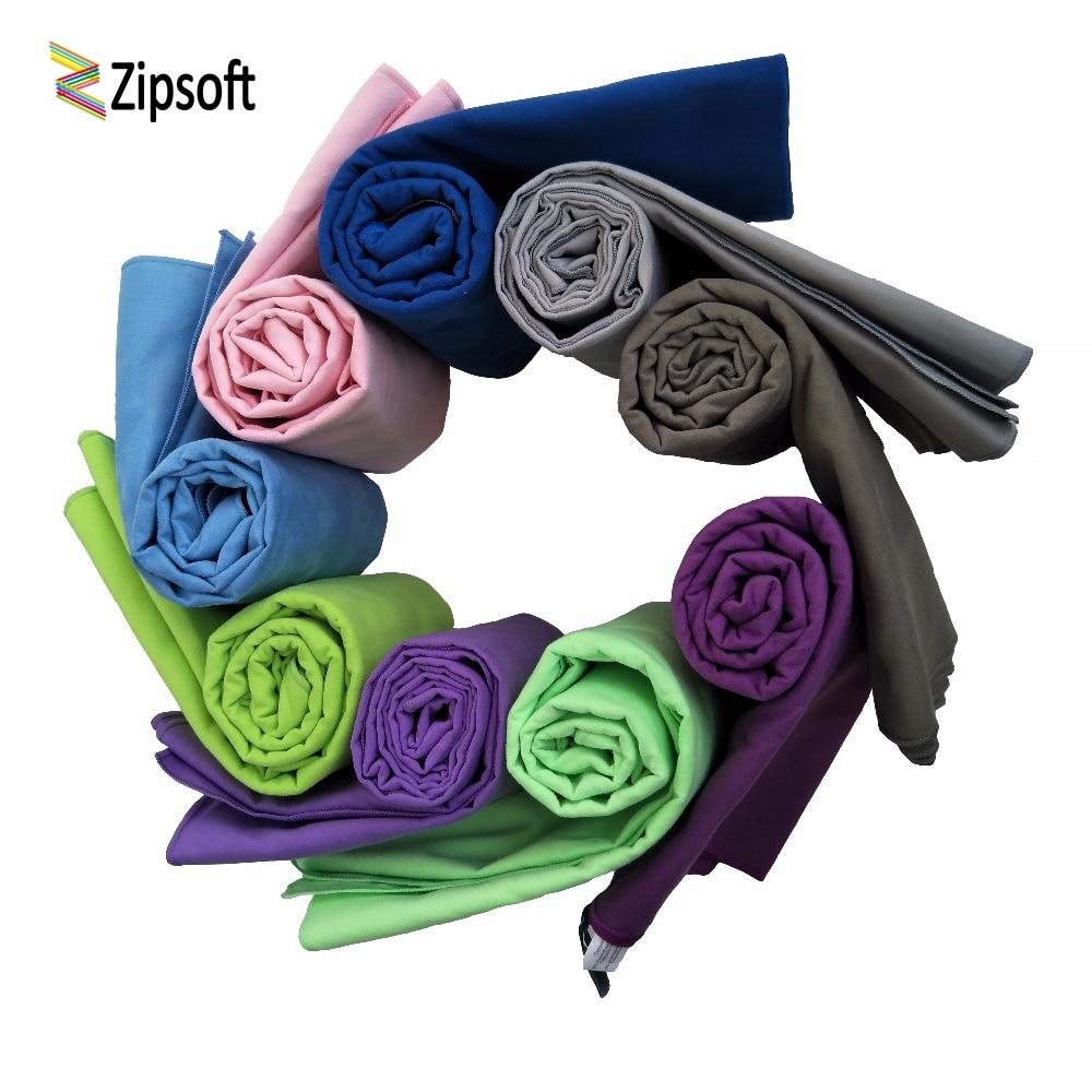 Zipsoft Beach Towel Large Microfiber Quick-drying Towels For Bath Camping Shower Toalha De Banho Yoga Mat Lightweight 2019 New