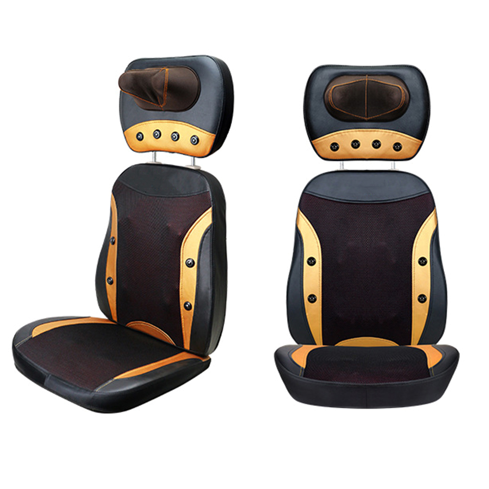 1pc 6d Massage Chair Mat Full Body Massager Chair Mat Neck Back Waist Massage Pad Infrared Magnetic Therapy Cushion Machine 220v tapping massage cushion 3d new massager whole body massage chair mat for sale