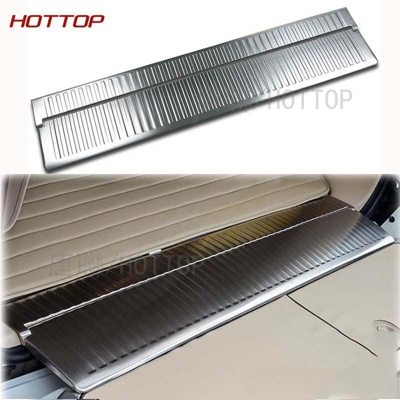 Protecteur de Pare-chocs arrière Couverture Coffre Garde Garniture Pour Toyota Land Cruiser LC V8 FJ 200 LC200 2008 2009 2010 2011 2012 2013 2014 2015