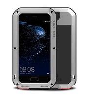 For HUAWEI P10 / P10Plus Full 360 degree AntiDrop Shock Dirt Waterproof Snow Metal Protect Cover Case