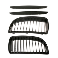New 1 Set Vehicle Car Dumb Black Front Kidney Grill Grilles For BMW E90 E91 Saloon 2005 2008 4D Auto Car Accessories