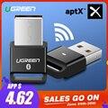 Ugreen USB Bluetooth Dongle Adattatore 4.0 per PC Altoparlante Del Computer Mouse Senza Fili di Musica di Bluetooth Audio Ricevitore Trasmettitore aptx
