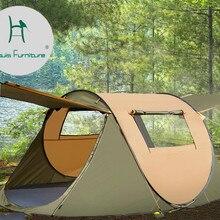 Луи модные садовые наборы палатки Открытый Автоматический Двойной непромокаемый Открытый поле Быстрый кемпинг утолщение