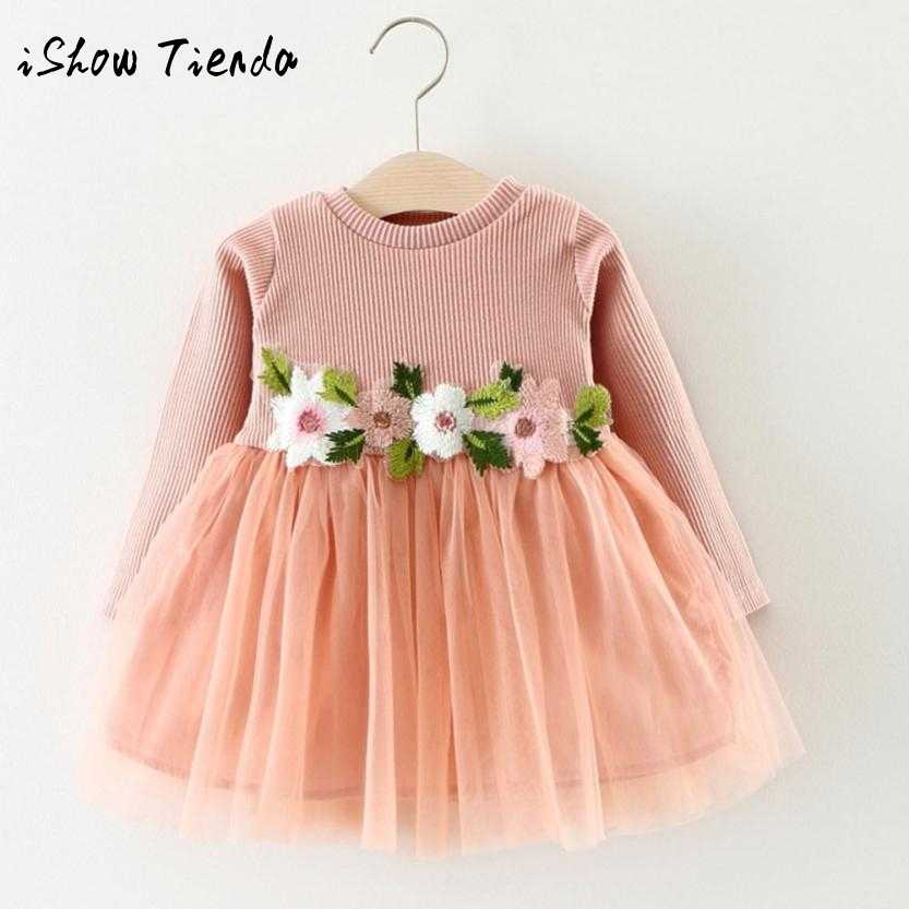 88e0559a368e Detail Feedback Questions about newborn baby dress Kids Princess Dress  Flower Tutu Ball Gown baby clothing my first birthday clothes for girls  dress on ...