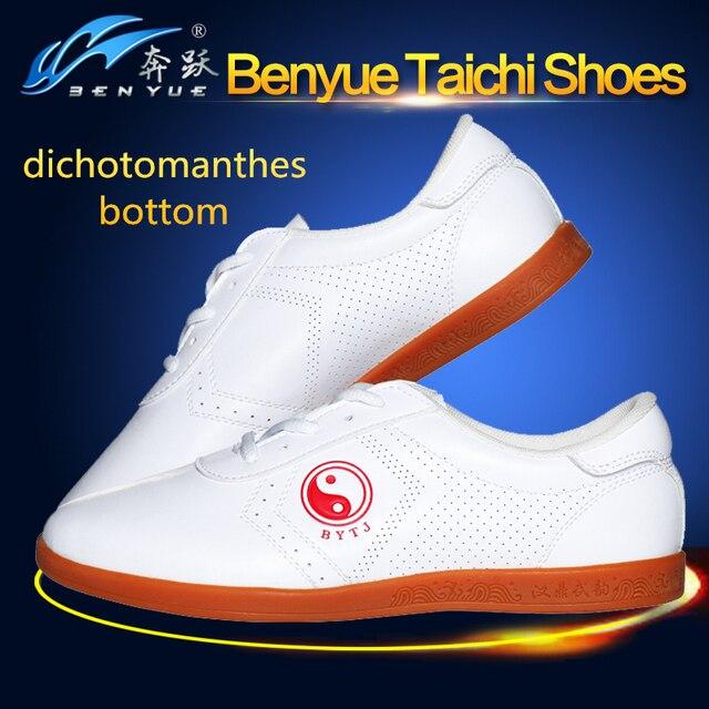 Одежда высшего качества из искусственной кожи белого цвета занятий тай-чи Обувь Китайский кунг-фу Обувь Wing chun Тай Чи тапочки M Книги по искусству ial книги по искусству тапки Обувь
