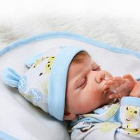 Новое поступление 22 дюймов 55 см Reborn Baby Doll реальной жизни, как кукла реборн для маленьких мальчиков реалистичные ручной работы кукла малыша и