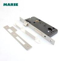 ML004 narrow mortise locks door lock stainless steel#304 alloy door lock 45x85 50x85