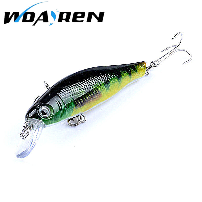 1Pcs Wobbler Minnow Lures 6 colors Fishing lure 3D eyes 4#hook Bass  8.7G 8.5CM fishing bait Salt water Fishing Tackle FA-381 1 5 4m 10 5g 11cm hard bait minnow fishing lures crankbait wobbler depth dive bass fresh salt water 4 hook