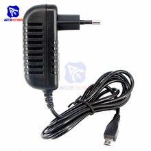 5 v 3a fonte de alimentação carregador ac dc conversor adaptador dc ue 3000ma micro usb 15 w