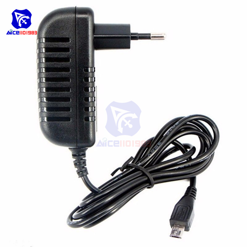 5V 3A Power Supply Charger <font><b>AC</b></font> <font><b>DC</b></font> Converter Adapter <font><b>DC</b></font> EU 3000mA MICRO USB 15W image
