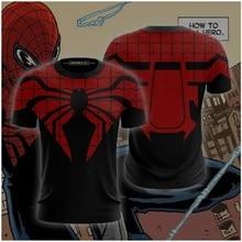 Superior Spider-Man Cosplay Unisex 3D Printed T-shirt Compression Shirt Men Short Sleeve Comics Cosplay Costume Tops For Tees superior spider man vol 5 the superior venom
