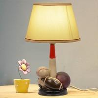 LED Children's Desk Lamp Bedroom Bedside Lamp Decorativetable Lamp Warm Simple Modern Reading Lamp Desk