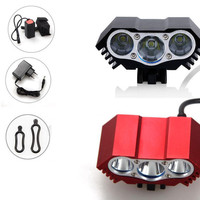 Solarstorm X3 6000 Lumen CREE Bike Light 3 LED Lanterna T6 Bicycle Front Light Cycling Light