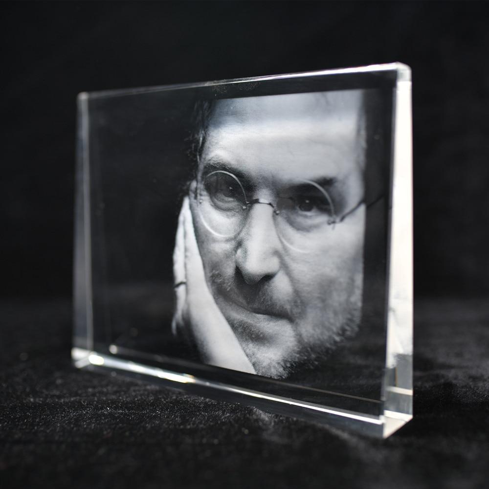 Marcos de fotos personalizados cristal hecho a mano forma cuadrada 3D láser grabado Diy foto marco vidrio recuerdo cumpleaños regalos-in Montura from Hogar y Mascotas on AliExpress - 11.11_Double 11_Singles' Day 1