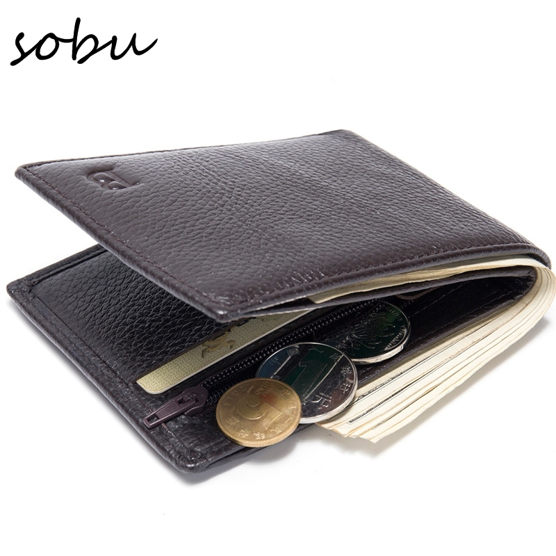 где купить Wallet Men Purse Leather Male Wallets Card Coin Holder Vintage Purses Moeny Clip 2018 Brand Short Slim Men Wallets V043 дешево