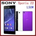 Abierto original sony xperia z2 l50w d6503 quad core 20.7 mp 3 GB RAM + 16 GB ROM WIFI GPS 3200 mAh 5.2 Pulgadas Teléfono Inteligente de Pantalla Táctil
