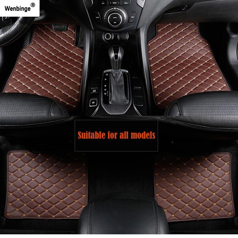 Wenbinge tapis de sol de voiture pour MINI Cooper R50 R52 R53 R56 R57 R58 F55 F56 F57 Countryman R60 F60 accessoires de voiture tapis de voiture de style