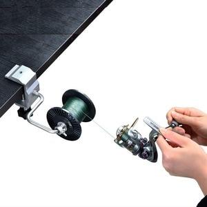 Image 4 - Fishing Line Spooler With Clamp Fishing Reel Line Spool Spooler System Tackle Fishing Line Winder Sea Carp Fishing Tools