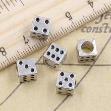 10 шт., бусины для браслета, 4,5 мм