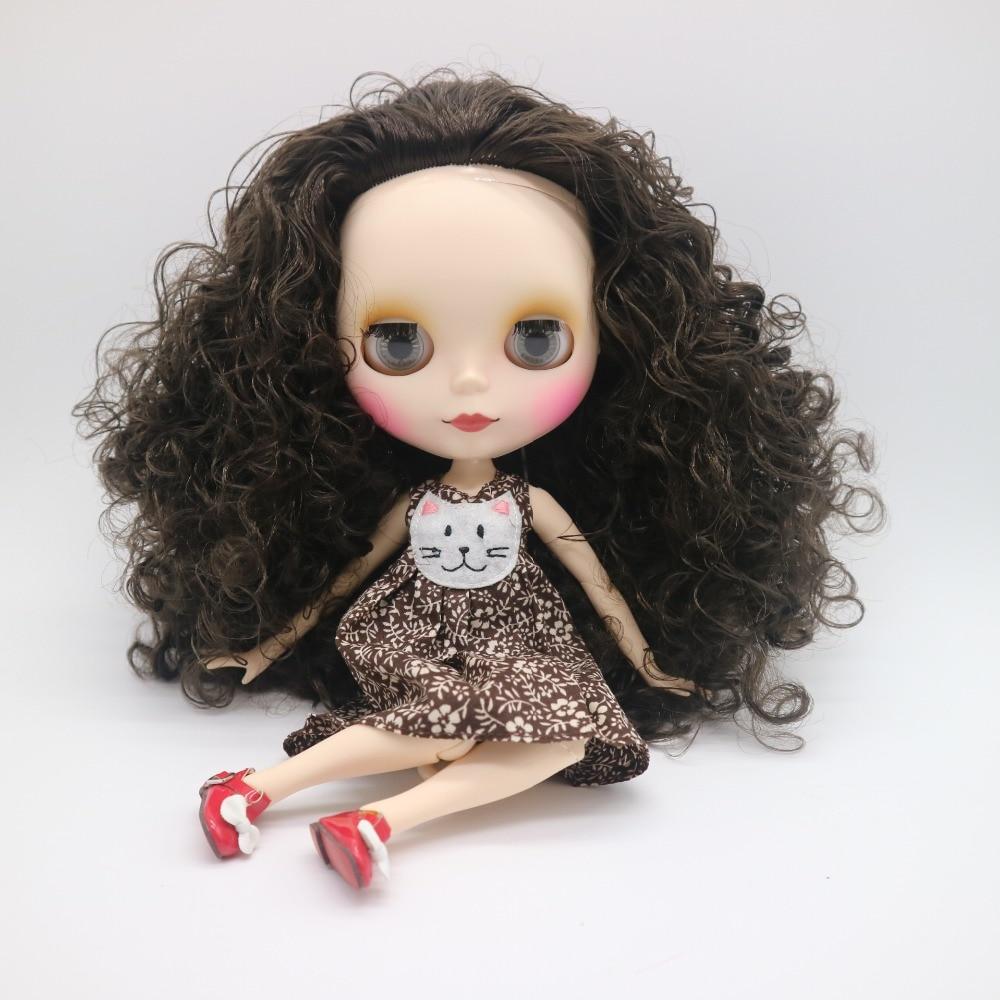 Joint körper Nude blyth Puppe schwarz lockige haar Fabrik puppe Geeignet Für DIY Ändern BJD Spielzeug Für Mädchen-in Puppen aus Spielzeug und Hobbys bei  Gruppe 1