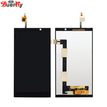BKparts Tested Original Quality 1pcs For HP Slate 6 Voice Tab Full LCD Display Touch Screen Glass Digitizer assembly Replacement