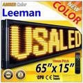 Leeman р20 P10 открытый из светодиодов перемещение сообщение с изображениями знаков, Программируемый из светодиодов сообщение света