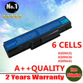 Wholesale New 6 cells laptop battery for Acer AS09A61 AS09A41 AS09A31 AS09A56 AS09A71 AS09A73  AS09A75 AS09A90  free shipping