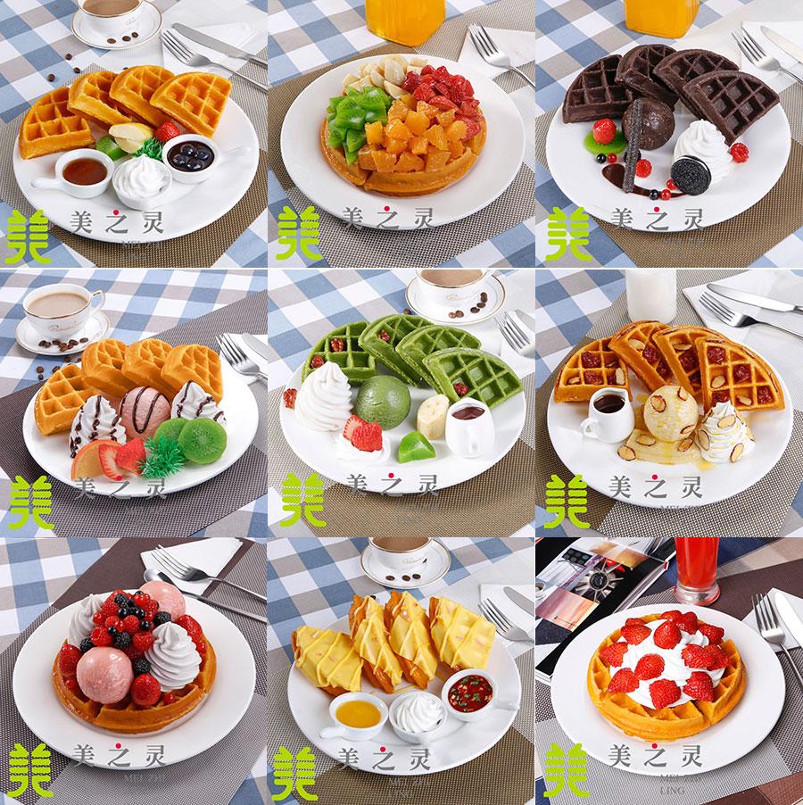 Diffuse koffie muffin volledige westerse custom simulatie model van een wafel model voedsel voedsel nep voedsel hotel benodigdheden
