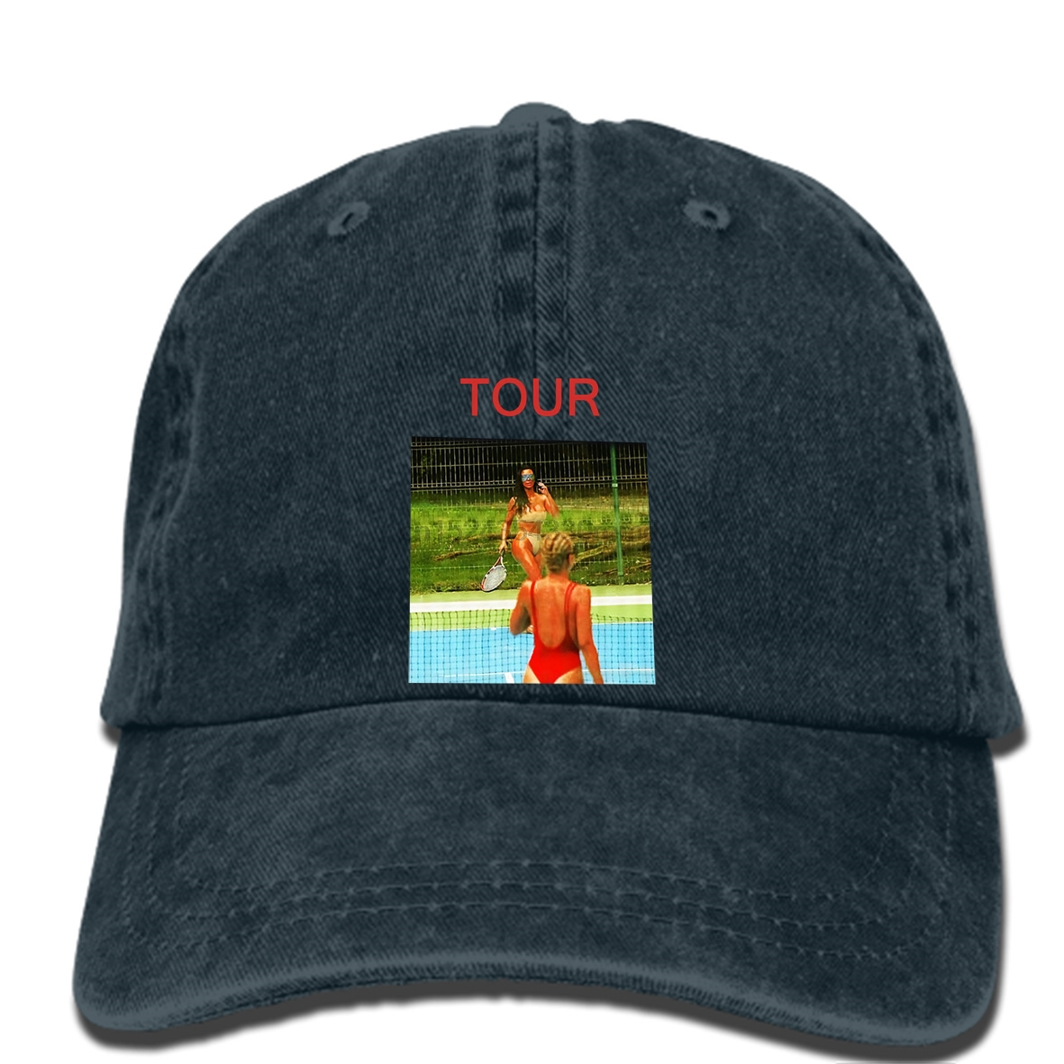 cdff3ac35bff4 hip hop Baseball caps SAINT PABLO TOUR MERCH KIM K TENNIS hat TLOP KANYE  WEST USA
