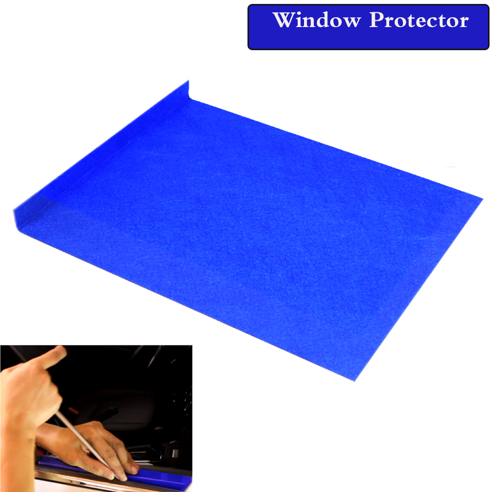 WHDZ  Blue/Black Window Protector Window Guard Dent Removal Tool Paintless Dent Repair Tools Door Protector