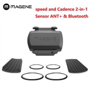 Image 1 - Gemini 210 Bicycle Computer Speed Sensor and Cadence Sensor Ant+ Bluetooth for Strava garmin bryton bike computer
