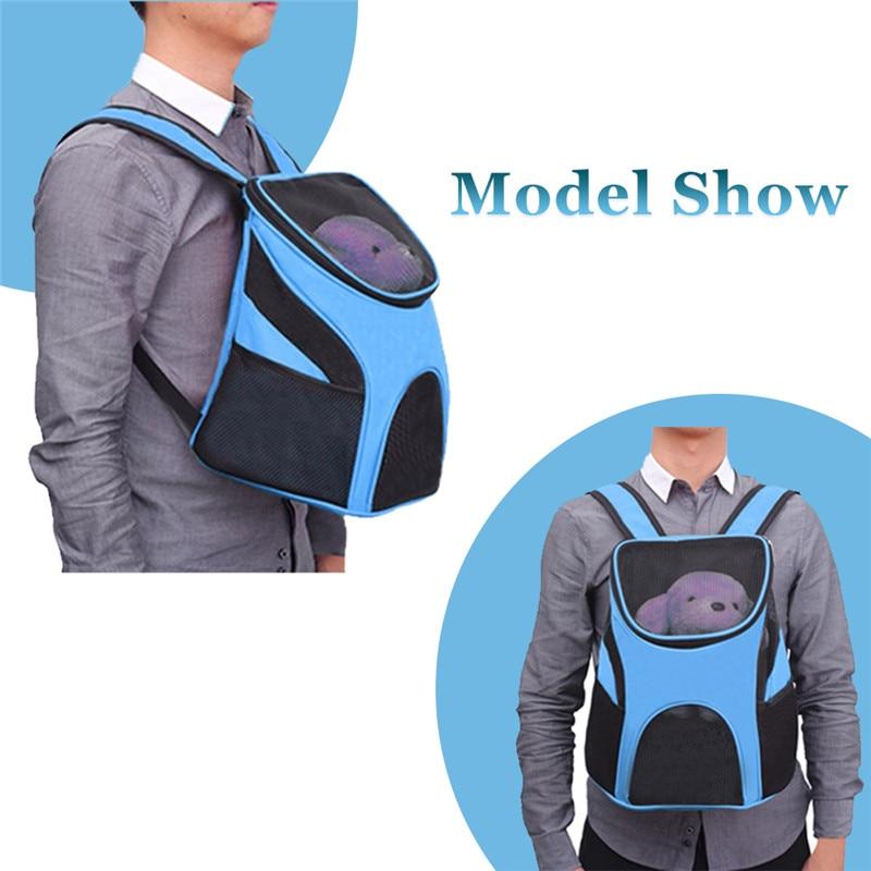 Zipper Dog Backpack Carrier 15