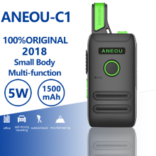 Get more info on the ANEOU C1 Mini Walkie Talkie 5w Uhf Two Way Radio Hf Transceiver Portable Radio Comunicador Ham Radio Amador Kids Radio Woki Toki