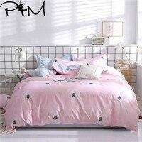 Papa&Mima modern style bedlinens Dandelion print bedding set Sheet Pillowcase Duvet Cover Sets Bedclothes set DropShipping