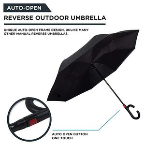 Image 3 - Upside Down UV Protection Unique Windproof Brella That Open Better Than Most Umbrellas, Reversible Folding Double Layer