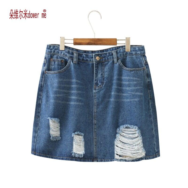 Sexy Skirts For Women 2017 New Denim Skirts Short Summer High Waist Denim Shorts Jeans Gor