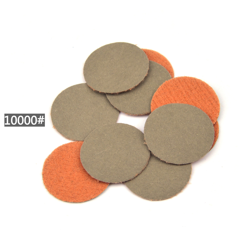 Image 4 - POLIWELL 50PCS 1 Inch Grit 1000 /3000/ 5000 Sanding Discs Waterproof Flocking Abrasive Sandpaper for Small Area Fine Polishing-in Abrasive Tools from Tools