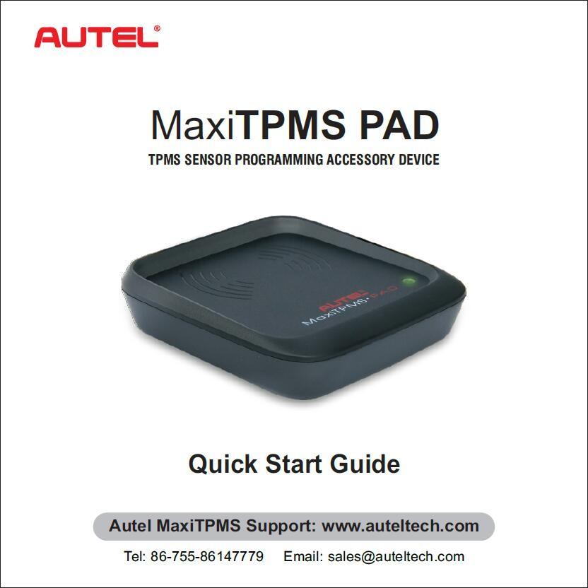 Autel MaxiTPMS PAD TPMS Sensor Programming Accessory Device (1)