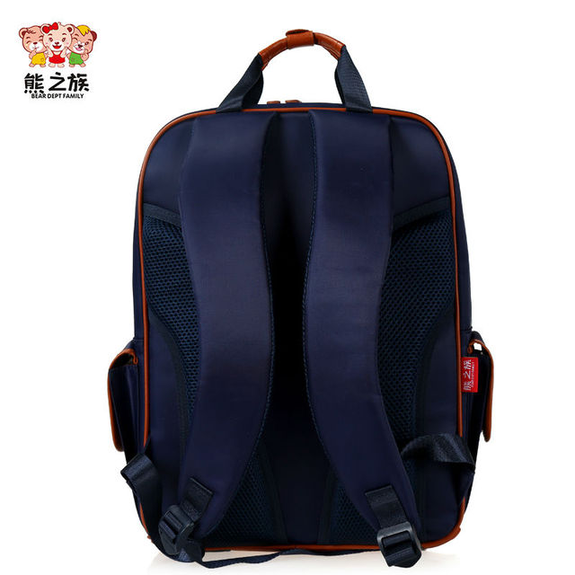 BEAR DEPT FAMILY Orthopedic Primary School Bags Students Boys Book Bag Girls Junior High School Backpack England Style Schoolbag