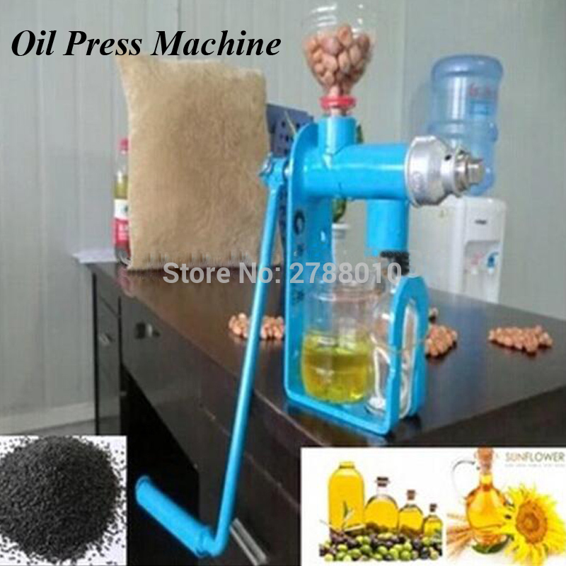 1pc Hand Operated Oil Press Machine Manual Oil Extraction Press Household Oil Expeller SD-03 automatic nut seeds oil expeller cold hot press machine oil extractor dispenser 350w canola oil press machine