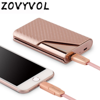 ZOVYVOL 2019 Smart Wallet With USB for Charging Wallet Capacity 4000 mAh For Travel Business Credit Card Name ID Card Holder