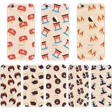 Андийи 2018 Новый Телефонные Чехлы Топ Продвижение Мода Япония Кимоно гэта чайник силиконовый чехол для iPhone 6 6S 7 8 плюс 5S se X