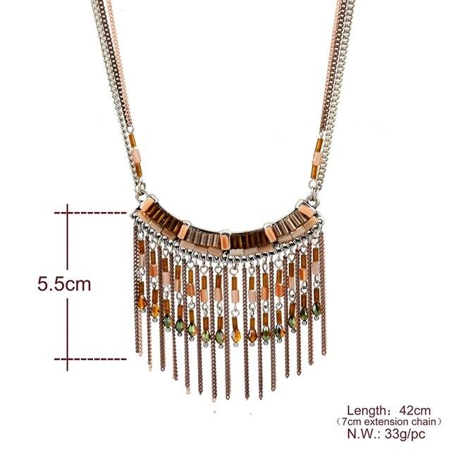 Chicvie Милые ожерелья из натурального камня популярные золотые