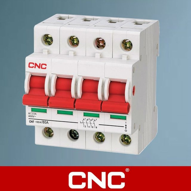 CH7 4P Electric Isolation Switch-in Circuit Breakers from Home ...